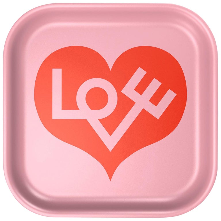 Vitra Small Classic Tray in Love Heart Design by Alexander Girard, 1stdibs NY For Sale