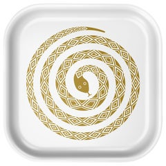 Vitra Small Classic Tray in Snake Design by Alexander Girard