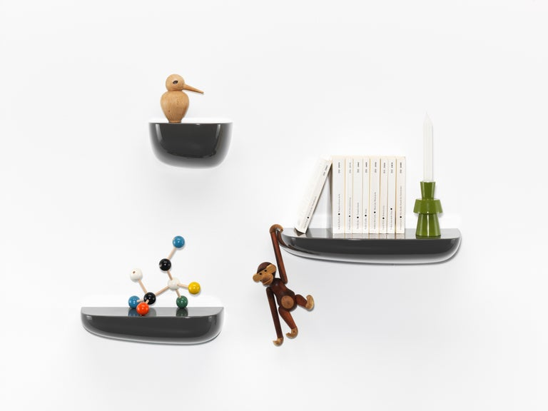Modern Vitra Small Corniches in Black by Ronan & Erwan Bouroullec For Sale