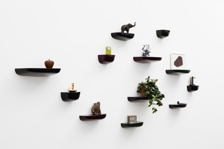 Swiss Vitra Small Corniches in Black by Ronan & Erwan Bouroullec For Sale