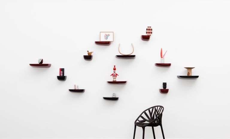 Contemporary Vitra Small Corniches in Black by Ronan & Erwan Bouroullec For Sale