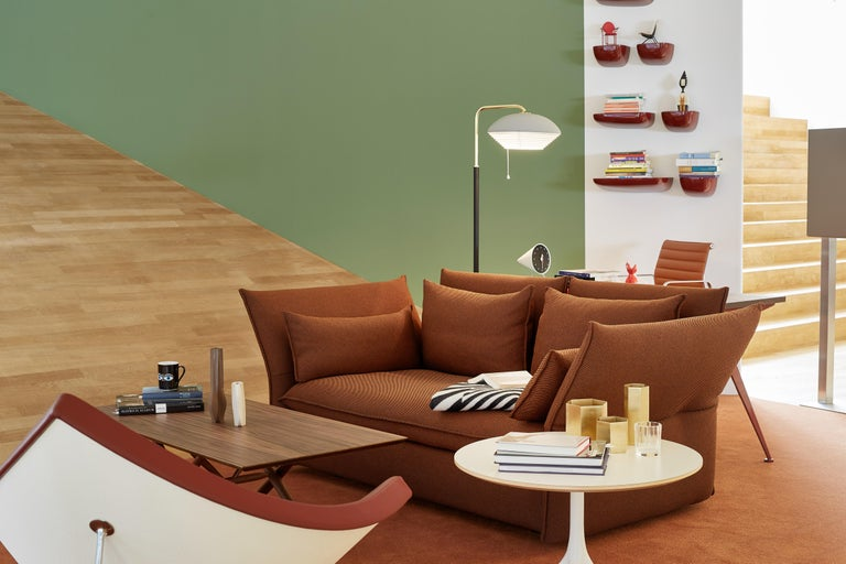 Plastic Vitra Small Corniches in Khaki by Ronan & Erwan Bouroullec For Sale