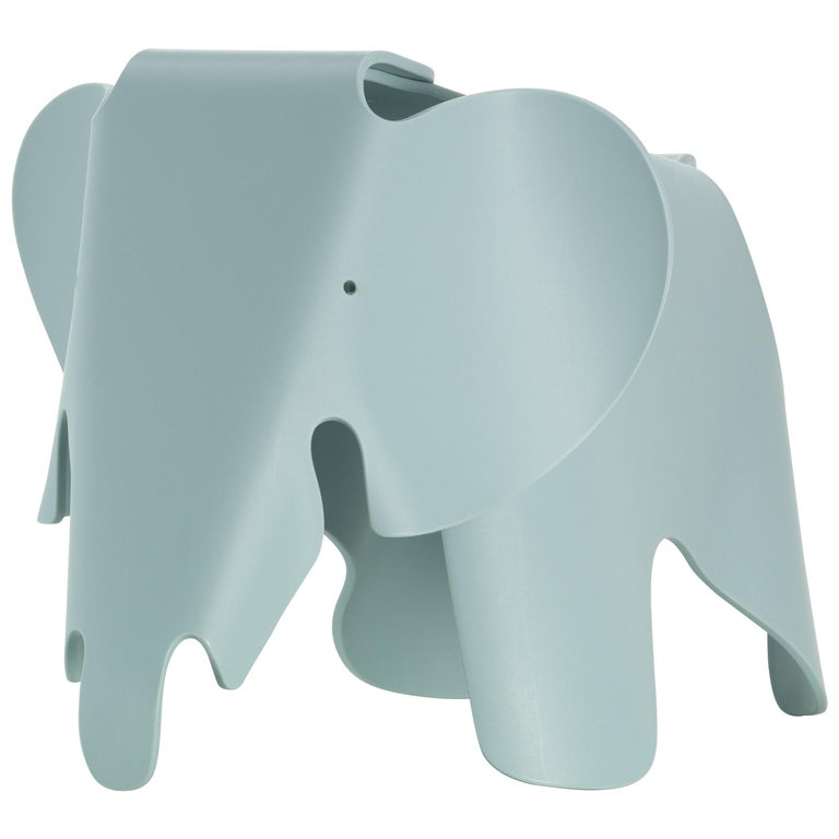 Vitra Small Eames Elephant in Ice Grey by Charles & Ray Eames For Sale