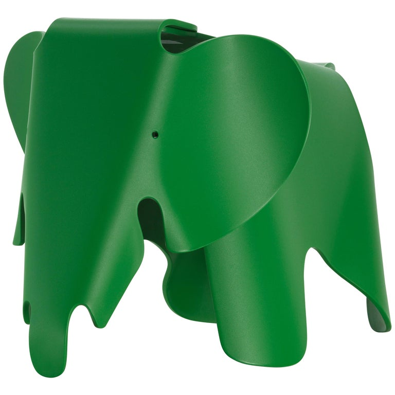 Vitra Small Eames Elephant in Palm Green by Charles & Ray Eames For Sale