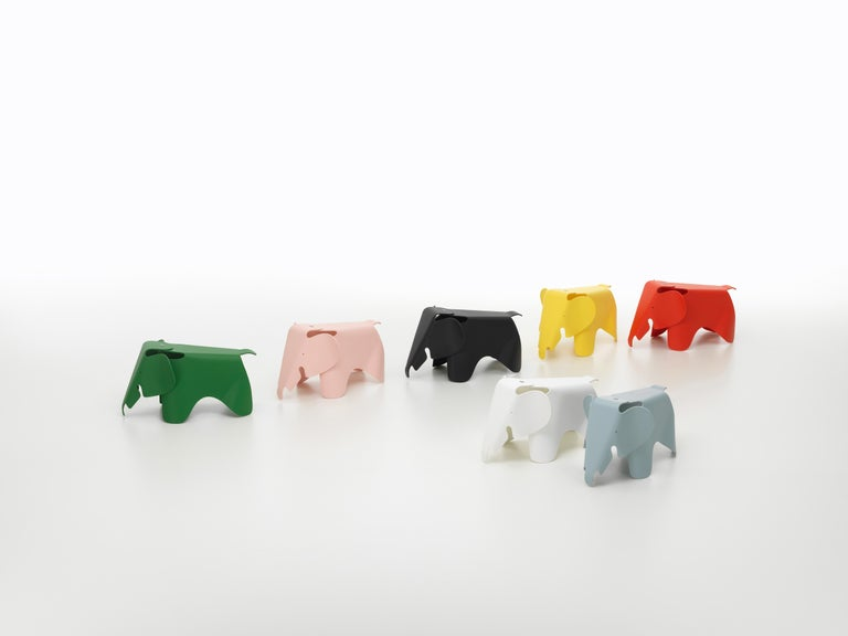 Contemporary Vitra Small Eames Elephant in White by Charles & Ray Eames For Sale