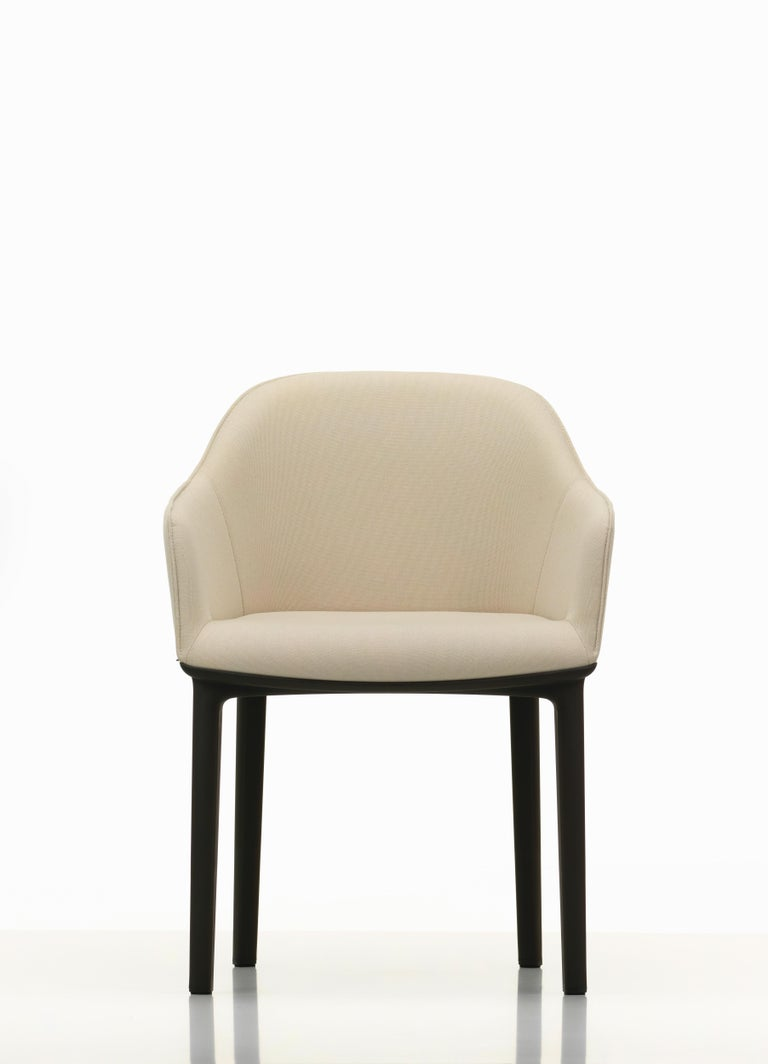 These products are only available in the United States.  The seat construction of the soft shell chair ensures a level of comfort that is first revealed upon use: vertical ribs concealed in the back shell adapt to the user, providing freedom of