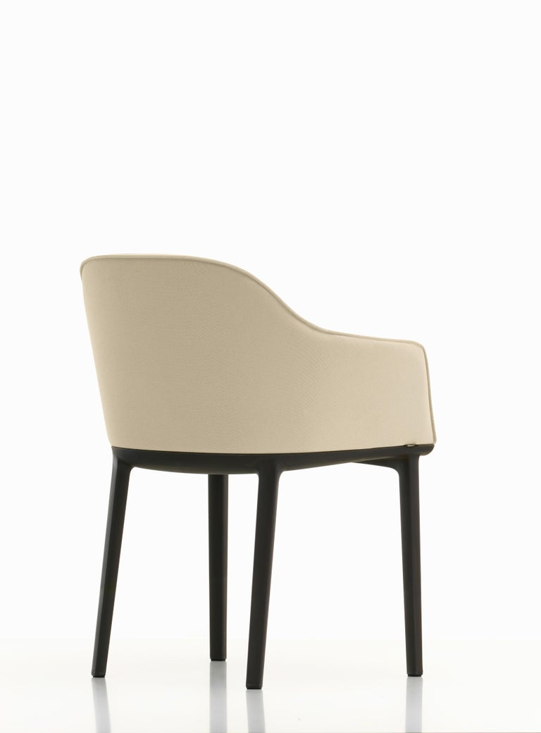 Modern Vitra Soft Shell Chair in Ivory Laser by Ronan & Erwan Bouroullec For Sale
