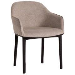 Vitra Softshell Fabric Armchair Gray