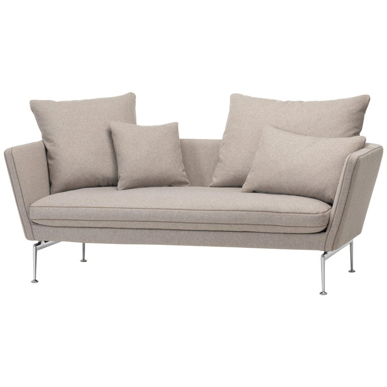 Vitra Suita Sofa Two Seat In Fossil Cosy By Antonio