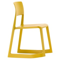 Vitra Tip Ton Chair in Mustard Shades by Edward Barber & Jay Osgerby