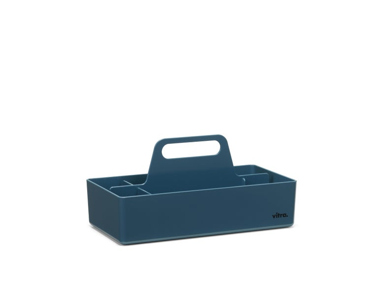 The Toolbox by Arik Levy is designed as a practical organisational utensil for storing accessories and small items. Thanks to its handy size, it can be easily stowed in a cabinet or on a shelf, and it takes up little room on a table. The Toolbox is