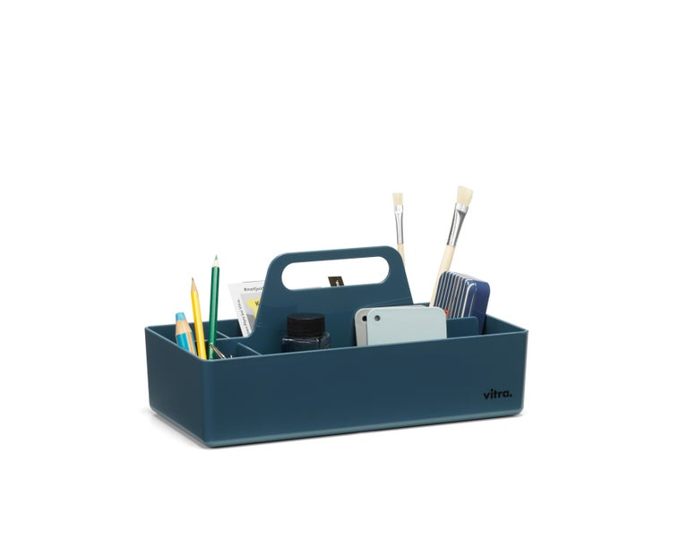 Swiss Vitra Toolbox in Sea Blue by Arik Levy, 1stdibs New York For Sale