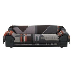 Vitra Vlinder Sofa in Dark Red Shades by Hella Jongerius