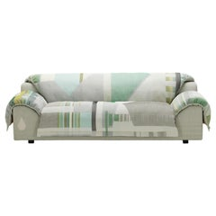 Vitra Vlinder Green Sofa by Hella Jongerius,  1stdibs NY Gallery Showroom Sample