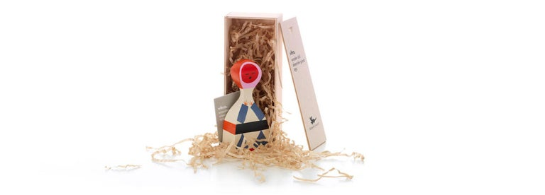 Modern Vitra Wooden Doll No. 18 by Alexander Girard - 1stdibs New York For Sale