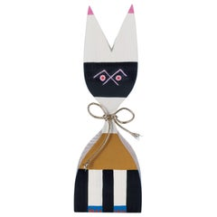 Vitra Wooden Doll No. 9 by Alexander Girard, 1stdibs Gallery Showroom Sample