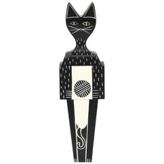 Vitra Wooden Doll Large Cat by Alexander Girard