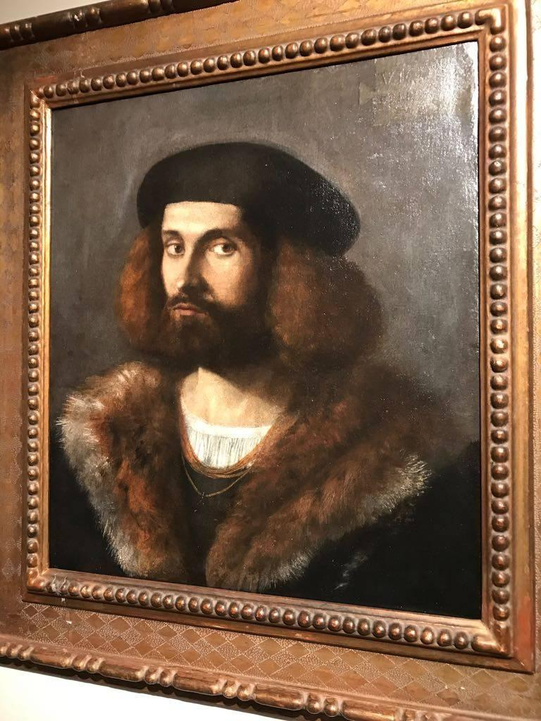 Renaissance Old Master Portrait of a Young Bearded Man For Sale 1