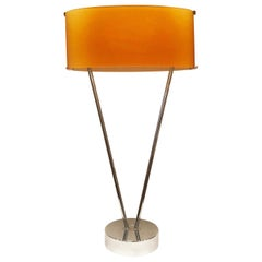 """Vittoria"" Table Lamp by Toso, Massari & Associates for Leucos, Italy, 1990s"