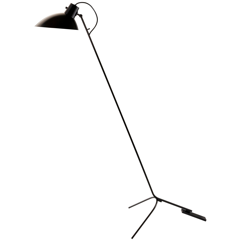 Vittoriano Viganò 'VV Cinquanta' Floor Lamp in Black