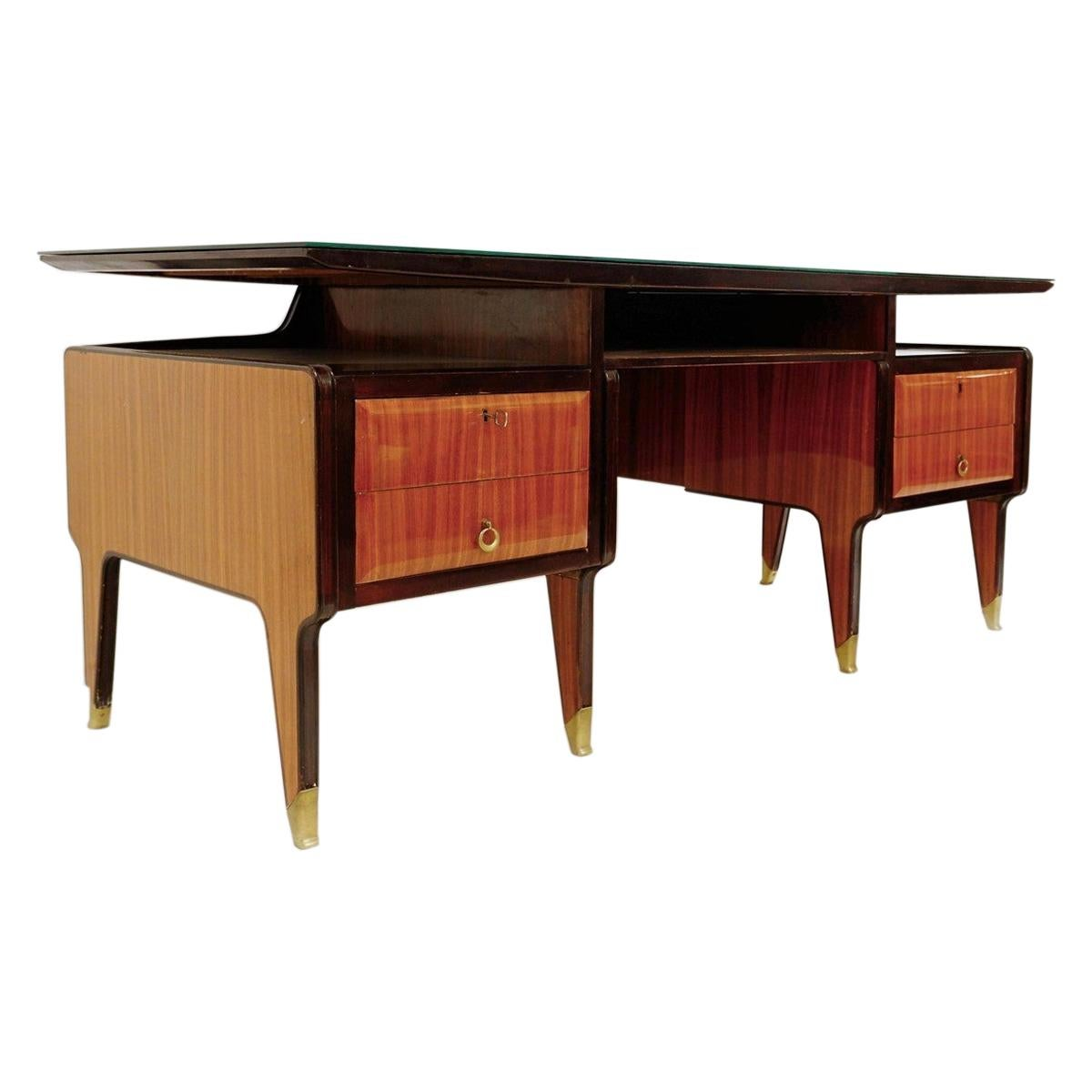 Vittorio Dassi Executive Desk, 1950s