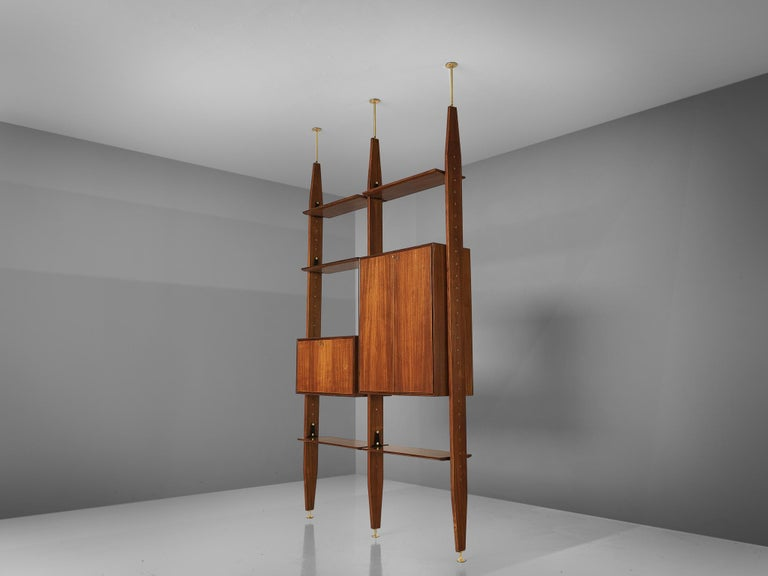 Italian Vittorio Dassi Freestanding Wall Unit For Sale