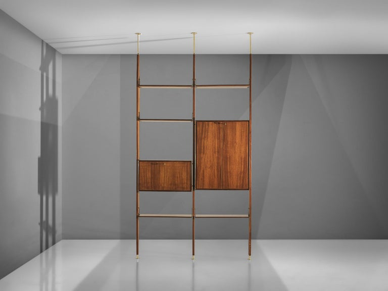 20th Century Vittorio Dassi Freestanding Wall Unit For Sale