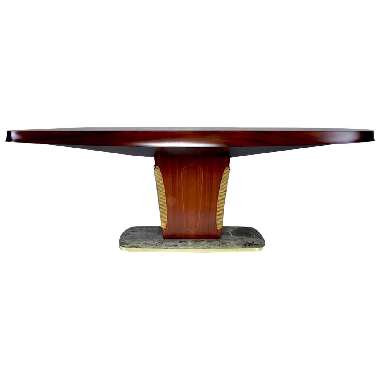 Vittorio Dassi Iconic Design Midcentury Dining Table, 1950s