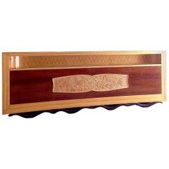 Vittorio Dassi Italian Mid Century Sideboard Credenza Cabinet, 40s