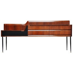 Vittorio Dassi Sideboard in Rosewood, Italy, 1950
