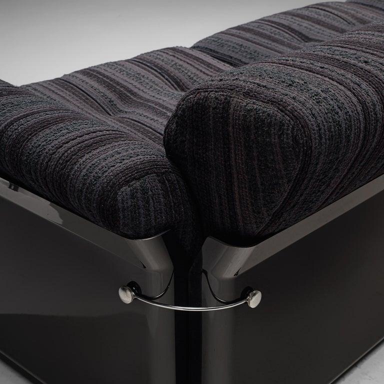 Vittorio Introini for Saporiti 'Larissa' Sofa In Good Condition For Sale In Waalwijk, NL