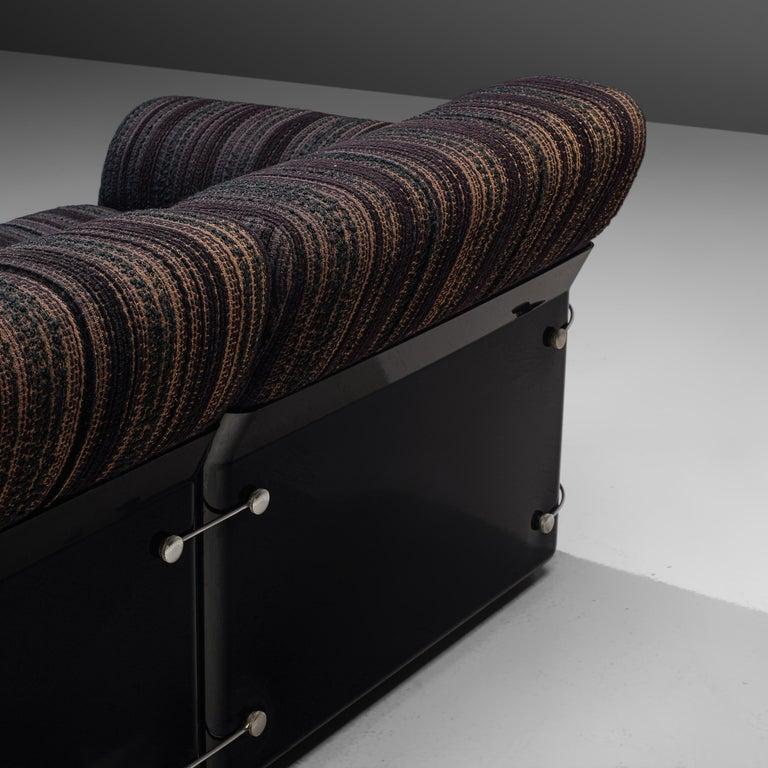 Fabric Vittorio Introini for Saporiti 'Larissa' Sofa For Sale