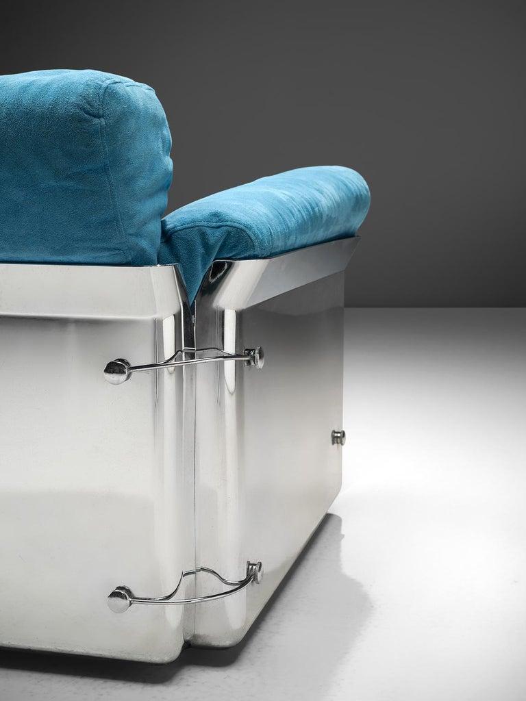 Vittorio Introini 'Larissa' Sofa for Saporiti In Good Condition For Sale In Waalwijk, NL