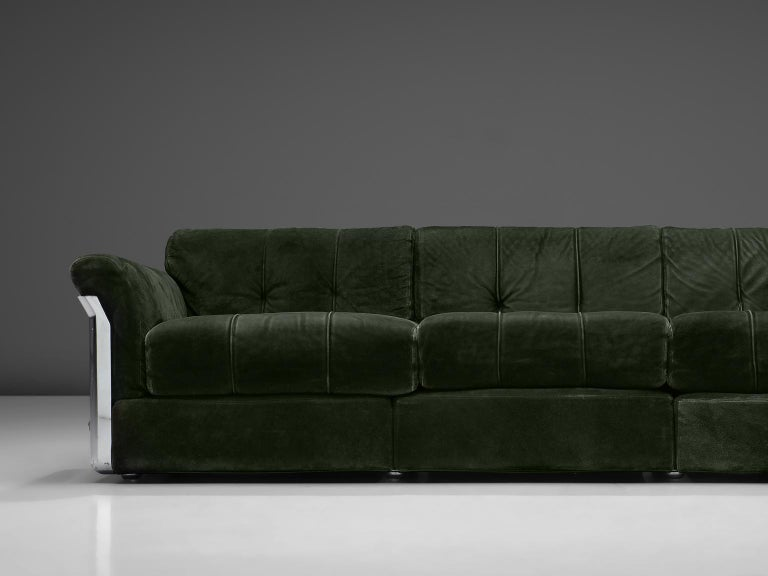 Vittorio Introini 'Larissa' Sofa for Saporiti In Good Condition For Sale In Waalwijk, NL