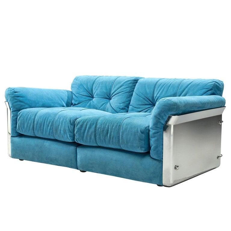 Vittorio Introini 'Larissa' Sofa for Saporiti For Sale