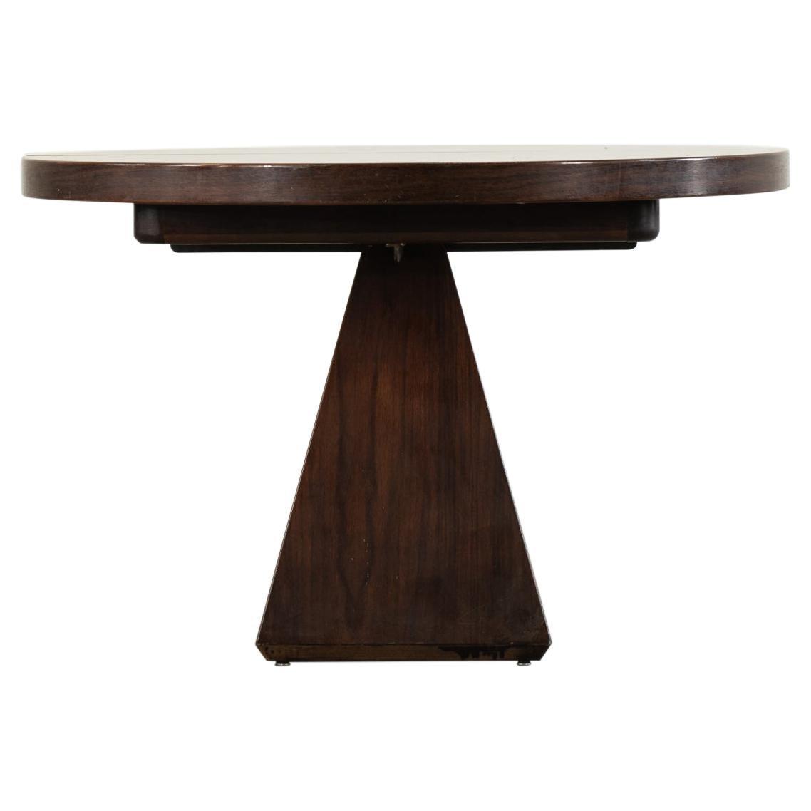 Vittorio Introini Round Dining Table Chelsea for Saporiti, 1960s