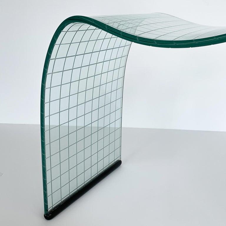 Vittorio Livi Onda Incisa Stool for Fiam For Sale 2