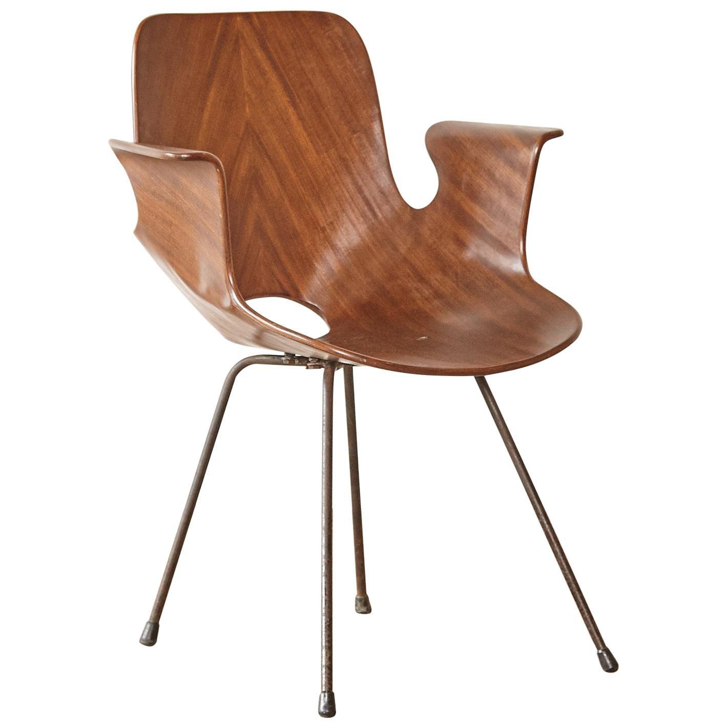 Vittorio Nobili for Fratelli Tagliabue Medea Chair, Italy, 1950s