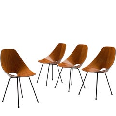 Vittorio Nobili Set of 'Medea' Chairs