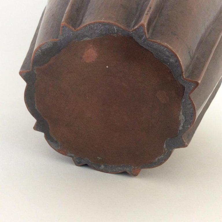 Vittorio Zecchin Patinated Copper Vase, circa 1926, Italy 10