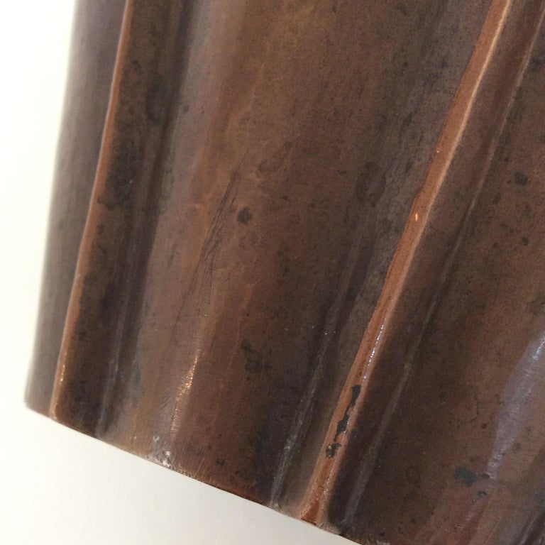 Vittorio Zecchin Patinated Copper Vase, circa 1926, Italy 5