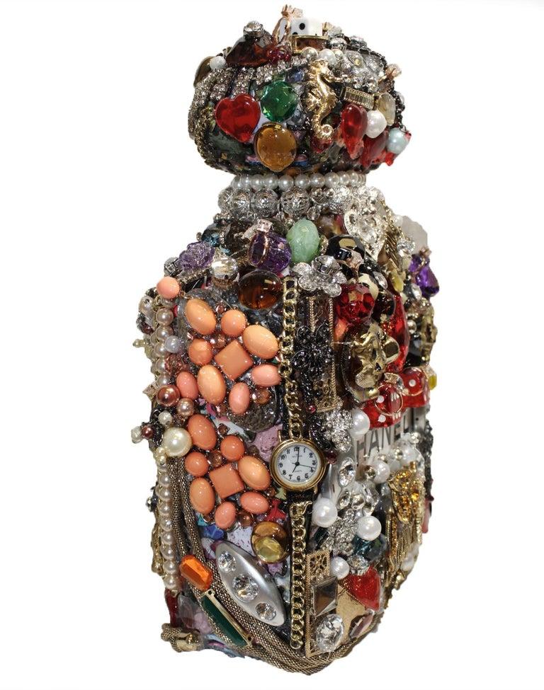 Viva Las Vegas Joe Baby's Modern & Casino Themed Perfume Bottle For Sale 2