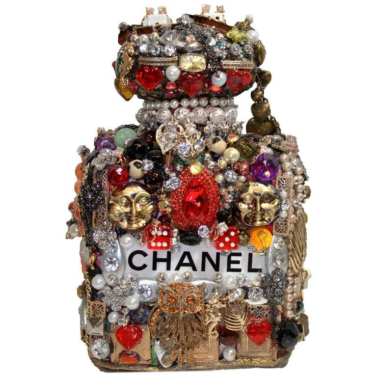 Viva Las Vegas Joe Baby's Modern & Casino Themed Perfume Bottle For Sale