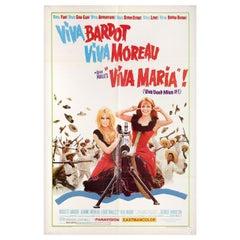 Viva Maria! 1966 U.S. One Sheet Film Poster