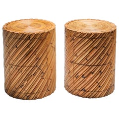 Vivai del Sud Pair of Side Tables