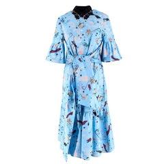 Vivetta Printed Drop Waist Dress US 4