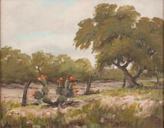 Untitled Landscape with Cactus