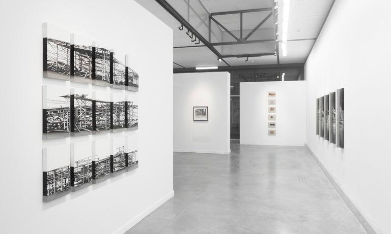 """""""Palais des Machines"""", 15 pieces, 2011, Canvas, Acrylic Paint, Painting  For Sale 2"""