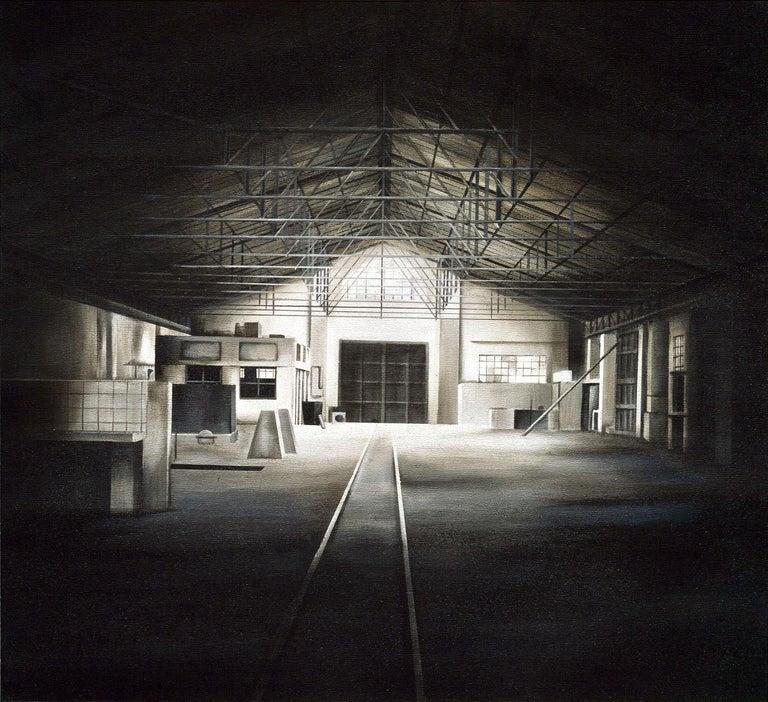 """Viviana Zargón Landscape Painting - """"Serie Saguas 5"""", Canvas, Painting"""