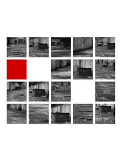 """Cuadriculado Rojo"", 2020, Photo on Paper, Edit 1/5, Abstract Photorealist"